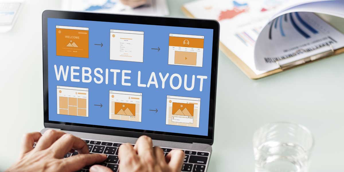 Business owner comparing options for how to set up a website