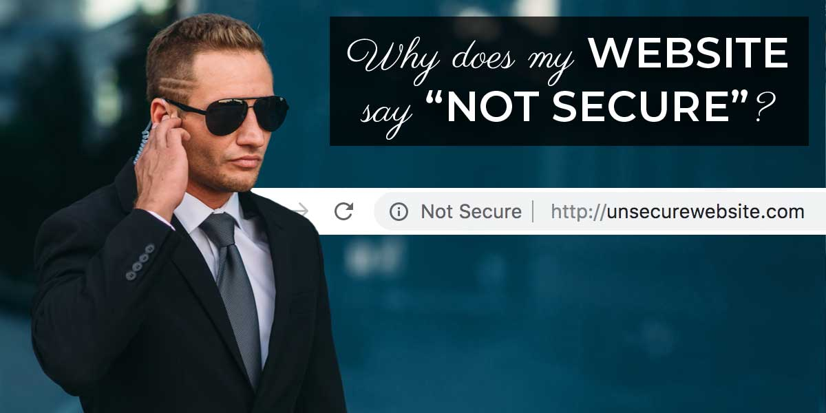 A security guard, representing a secured website
